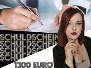 Schuldschein für könner! 6 Monate 200 Euro
